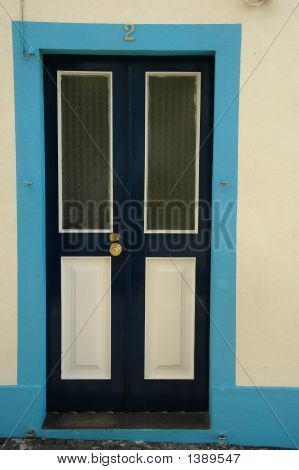 Door Of An Azores Typical Home