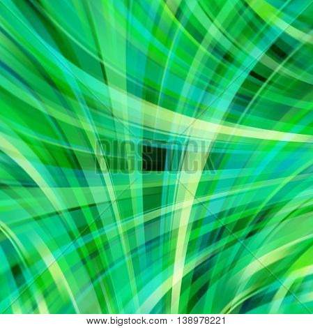 Shine Glow Background. Wallpaper Pattern. Abstract Shapes. Green Color.
