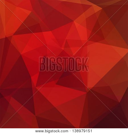 Abstract Christmas Background Consisting Of Triangles. Geometric Design For Business Presentations O