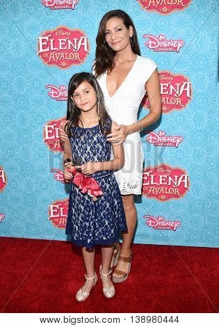 """LOS ANGELES - JUL 16:  Constance Marie & Luna Marie Katich arrives to the Disney Channel's """"Elena of Avalor"""" Los Angeles Premiere on July 16, 2016 in Beverly Hills, CA"""
