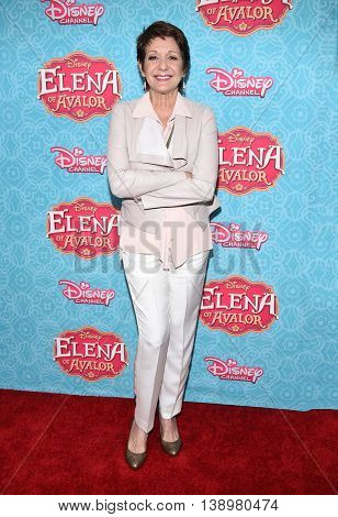"""LOS ANGELES - JUL 16:  Ivonne Coll arrives to the Disney Channel's """"Elena of Avalor"""" Los Angeles Premiere on July 16, 2016 in Beverly Hills, CA"""