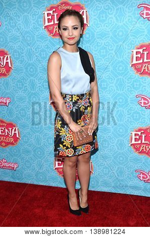 "LOS ANGELES - JUL 16:  Aimee Carrero arrives to the Disney Channel's ""Elena of Avalor"" Los Angeles Premiere on July 16, 2016 in Beverly Hills, CA"