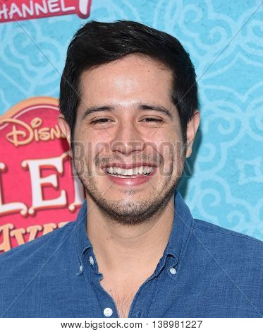 """LOS ANGELES - JUL 16:  Jorge Diaz arrives to the Disney Channel's """"Elena of Avalor"""" Los Angeles Premiere on July 16, 2016 in Beverly Hills, CA"""