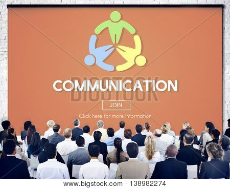 Communication Connect Conversation Interaction Concept