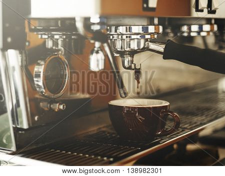 Beverage Barista Steam Coffee Chill Awakening Concept