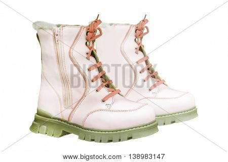 The image of a children's boots