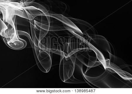 Soft Swirles Of Smoke