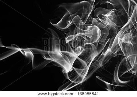 Gray Smoke Cloud