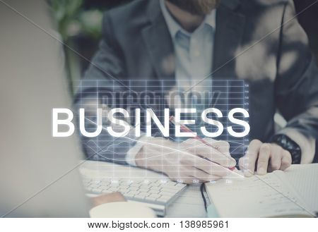 Business Finance Marketing Recession Concept