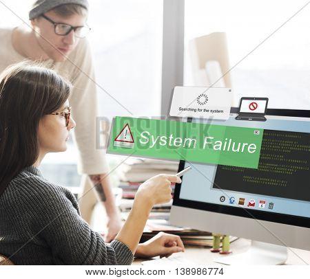 System Failure Error Detection Defeat Concept