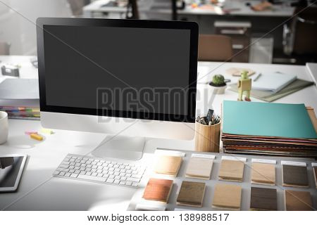 Mockup Copy Space Blank Screen Concept