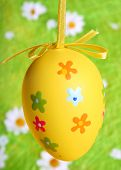 Pastel And Colored Easter Egg