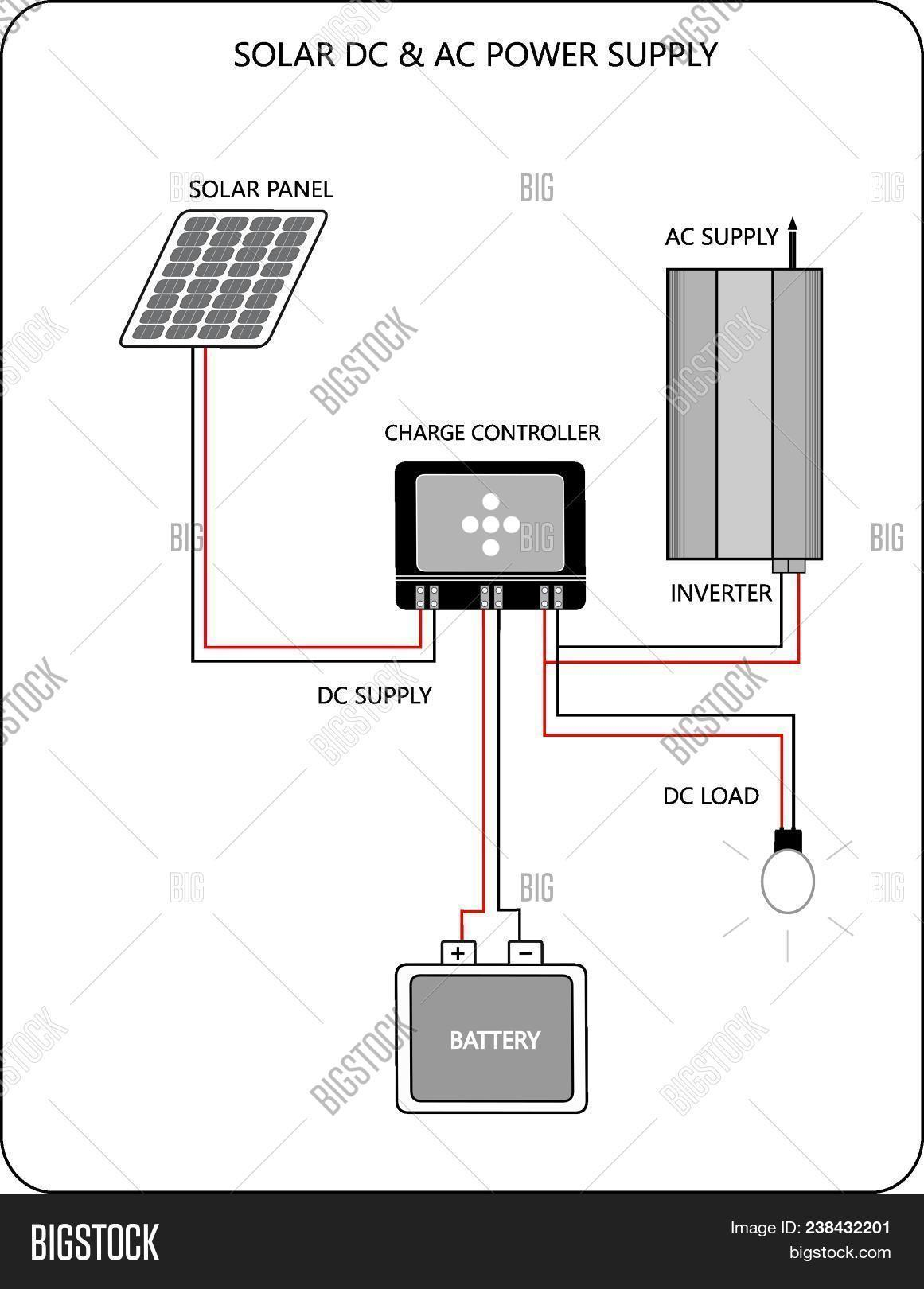 Ac To Dc Power Supply Circuit Schematic Electrical Wiring Diagrams Solar Image Photo Free Trial Bigstock 120vac