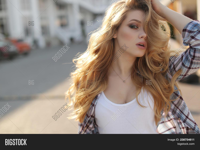 Young Beautiful Woman Image Photo Free Trial Bigstock