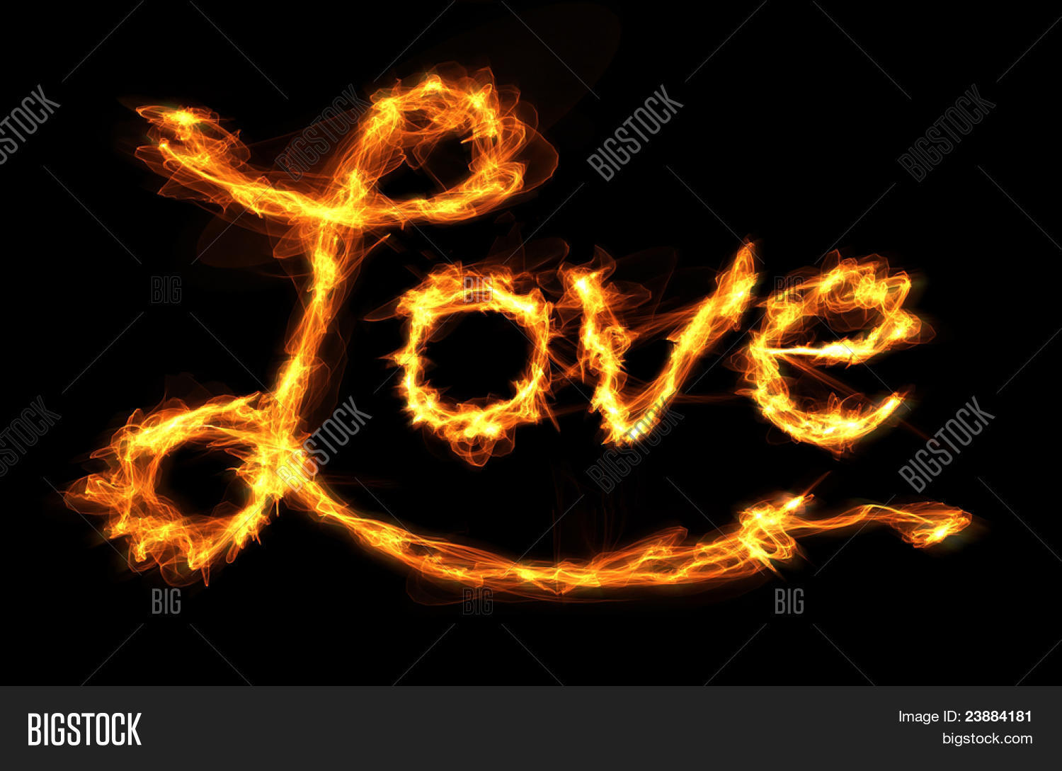 Word love created letters fire image photo bigstock the word love created with letters of fire thecheapjerseys Image collections