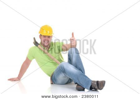 Successful Construction Worker