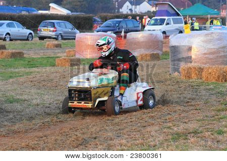 12 hour Over Night Lawn Mower Championship