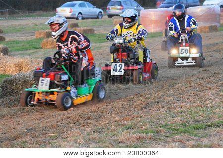 'Le Mow' 12 Hour Lawn Mower Championship