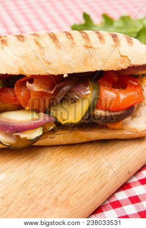 Vegan Vegetable Sandwiches A Plate Of Roasted Vegetable Vegan Sandwiches