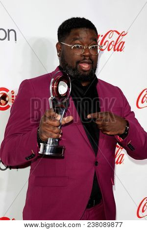 LAS VEGAS - APR 26:  Lil Rel Howery at the 2018 CinemaCon - Awards Gala at Caesars Palace on April 26, 2018 in Las Vegas, NV