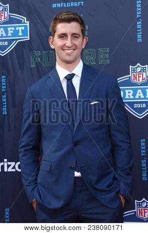 ARLINGTON, TX - Josh Rosen attends the 2018 NFL Draft at AT&T Stadium on April 26, 2018 in Arlington, Texas.
