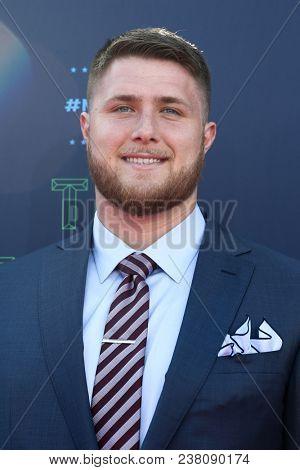 ARLINGTON, TX - Kolton Miller attends the 2018 NFL Draft at AT&T Stadium on April 26, 2018 in Arlington, Texas.
