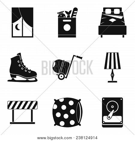 Snugness Icons Set. Simple Set Of 9 Snugness Vector Icons For Web Isolated On White Background