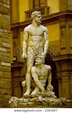 Hercules And Cacus - Florence