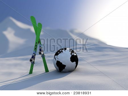 World Competition Skiing
