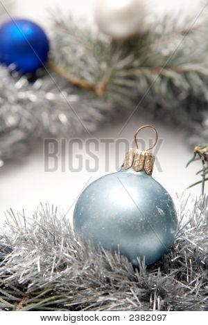 Snowy Christmas Decoration