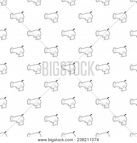 Cannon Pattern Vector Seamless Repeating For Any Web Design
