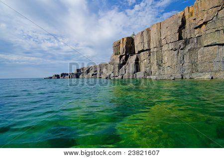 Receding Cliffs, Lake Superior