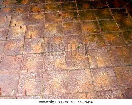 Recicling World. Wooden Floor