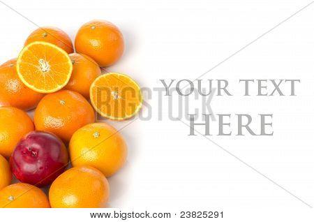 The Oranges And Plum