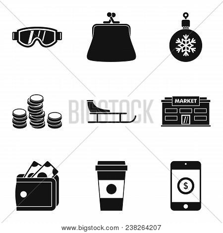 Cool Down Icons Set. Simple Set Of 9 Cool Down Vector Icons For Web Isolated On White Background