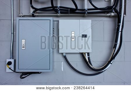 The Electric System In Cabinet  Building System