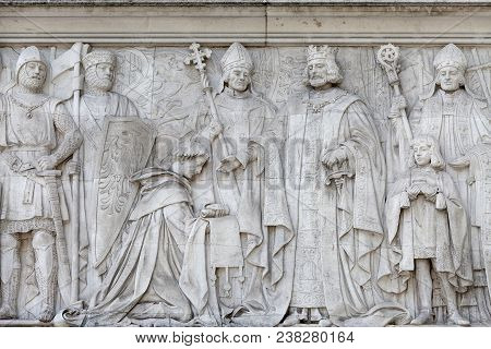 London, United Kingdom - June 21, 2017: Supreme Court Of The United Kingdom, Middlesex Guildhall Bui