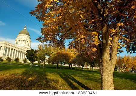 State Capitol in Fall