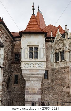 Tower Of Corvin Castle, Also Known As Castelul Corvinilor Is A Gothic-renaissance Castle In Hunedoar