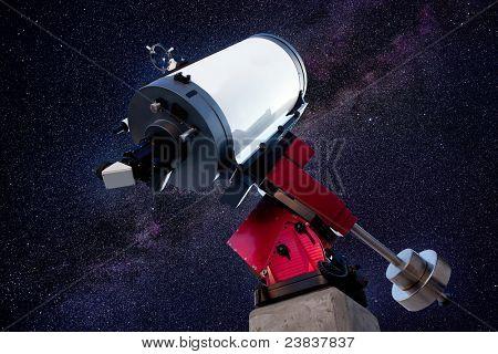 astronomical observatory telescope stars night sky [Photo Illustration]