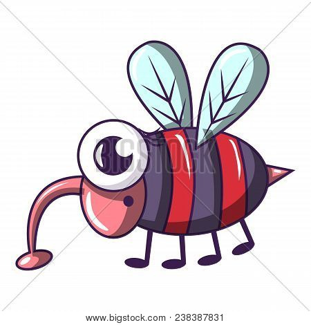Dangerous Fly Icon. Cartoon Illustration Of Dangerous Fly Vector Icon For Web