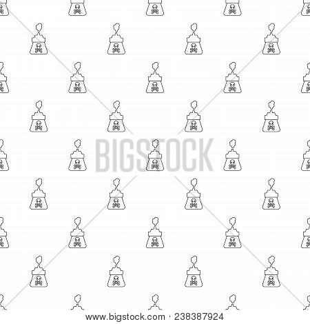 Poison Pattern Vector Seamless Repeating For Any Web Design