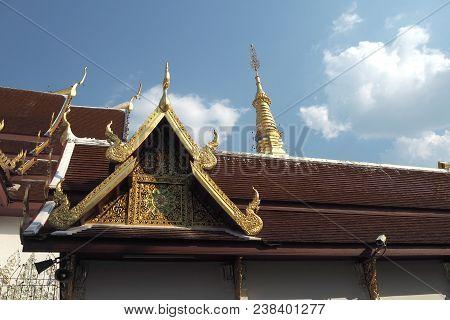 Thai Temple Look So Nice And So Beautyful