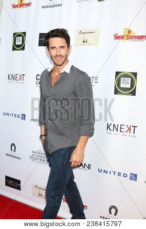 LOS ANGELES - APR 25:  Brandon Beemer at the NATAS Daytime Emmy Nominees Reception at Hollywood Museum on April 25, 2018 in Los Angeles, CA