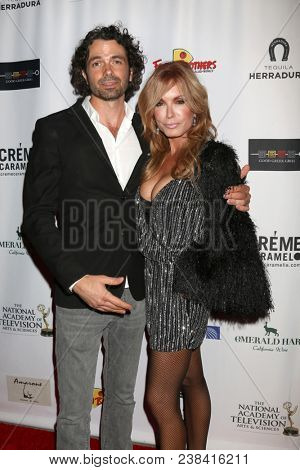 LOS ANGELES - APR 25:  Daniel Hall, Tracey Bregman at the NATAS Daytime Emmy Nominees Reception at Hollywood Museum on April 25, 2018 in Los Angeles, CA
