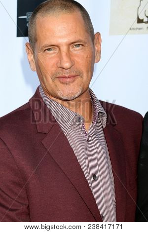 LOS ANGELES - APR 25:  Thomas Calabro at the NATAS Daytime Emmy Nominees Reception at Hollywood Museum on April 25, 2018 in Los Angeles, CA