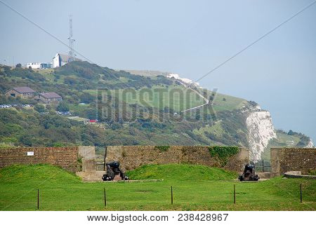 The White Cliffs Of Dover Are Cliffs That Form Part Of The English Coastline Facing The Strait Of Do