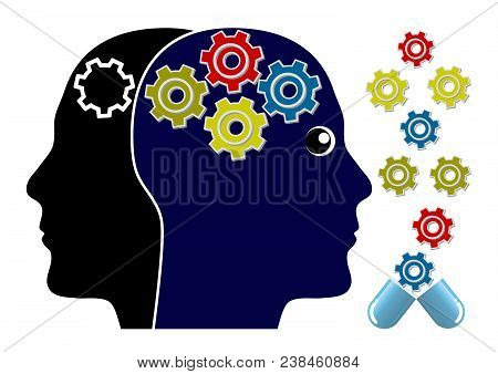 Brain Tonic For Men. Supplements To Improve The Cognitive Ability