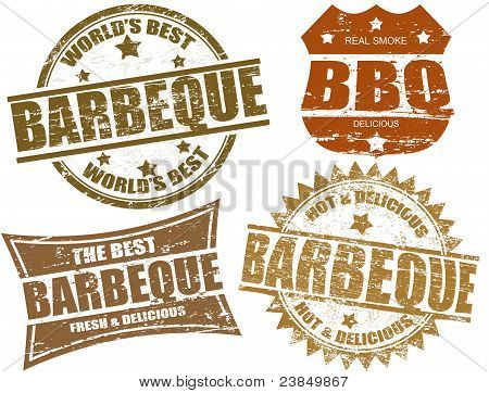 Barbeque-Briefmarken
