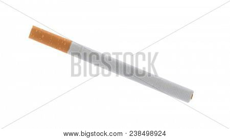 Cigarette isolated on white background.
